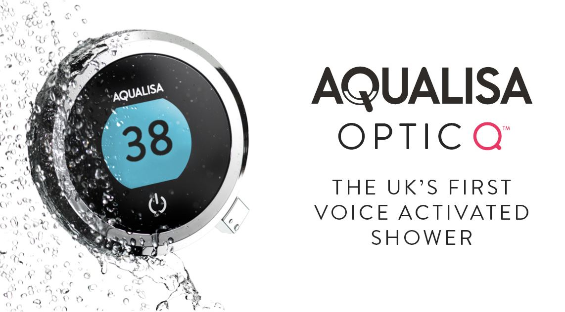 Aqualisa Optic Q, The UK's first voice activated shower