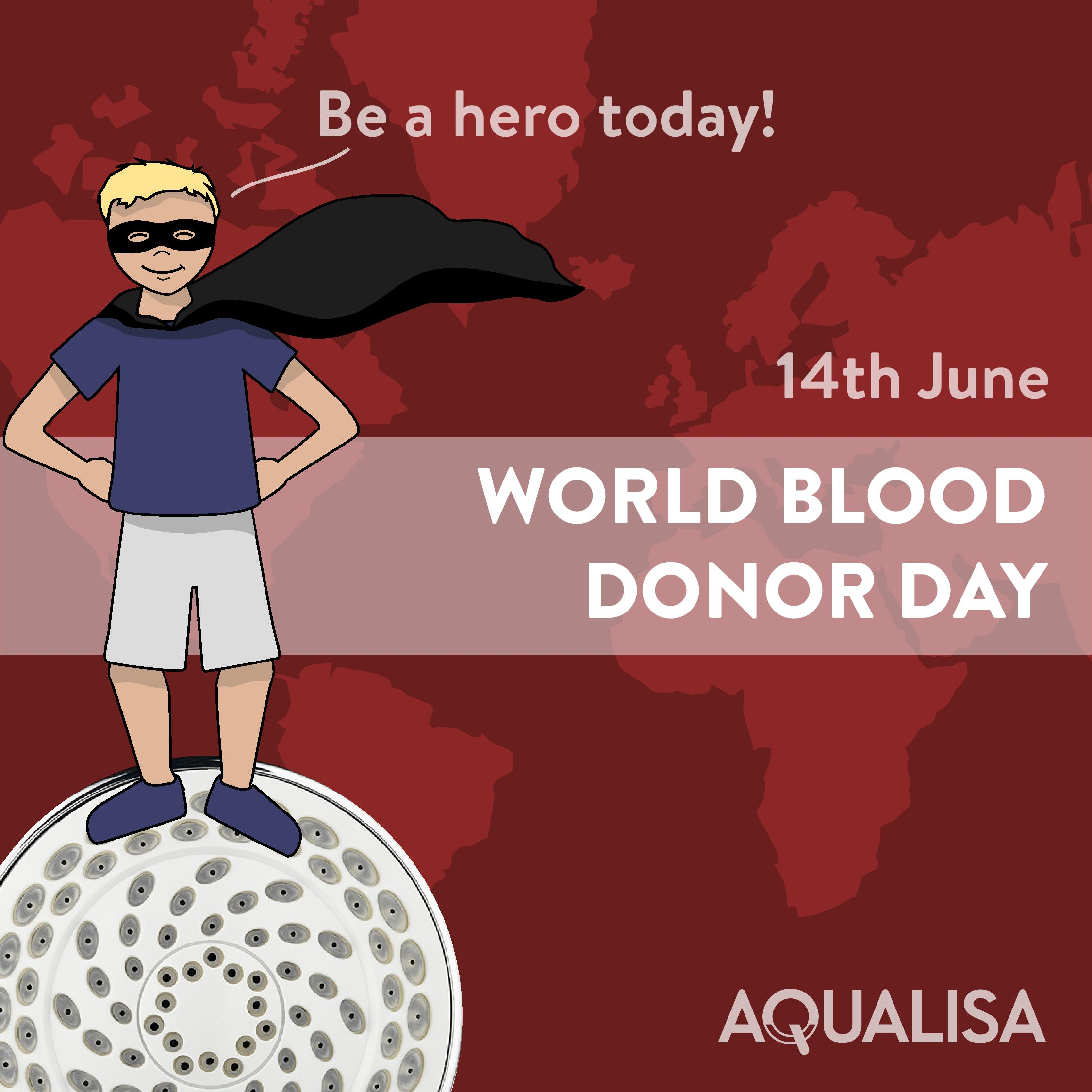 Be a hero this world blood donor day