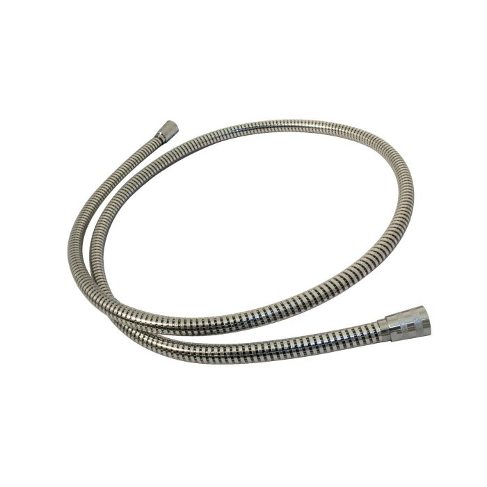 Shower Hose 1.75m-Shower Hose 1.75m - Plastic Coated Chrome