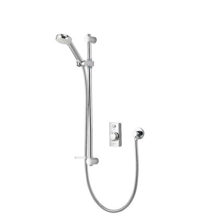 Concealed digital shower Visage with adjustable shower head - Gravity Pumped