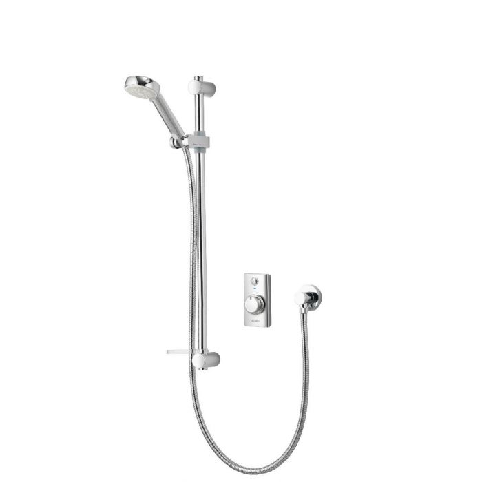 Concealed digital shower Visage with adjustable shower head - HP/Combi
