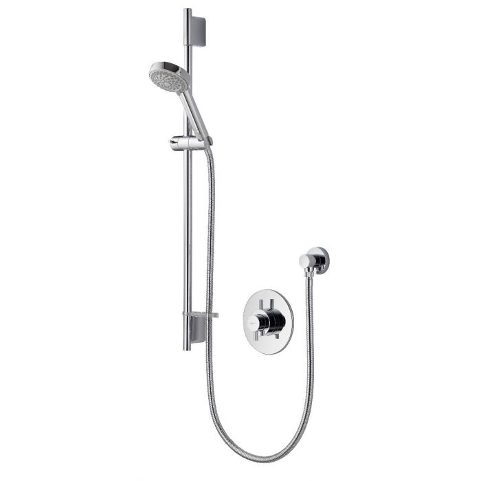 Concealed mixer shower Aspire DL with adjustable shower head