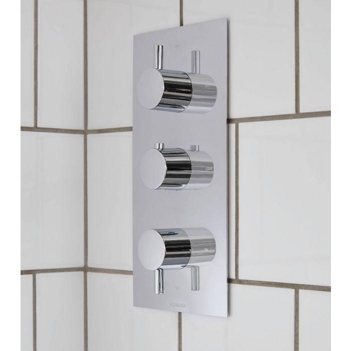 Rise DCV 3 way mixer shower - HP/Combi
