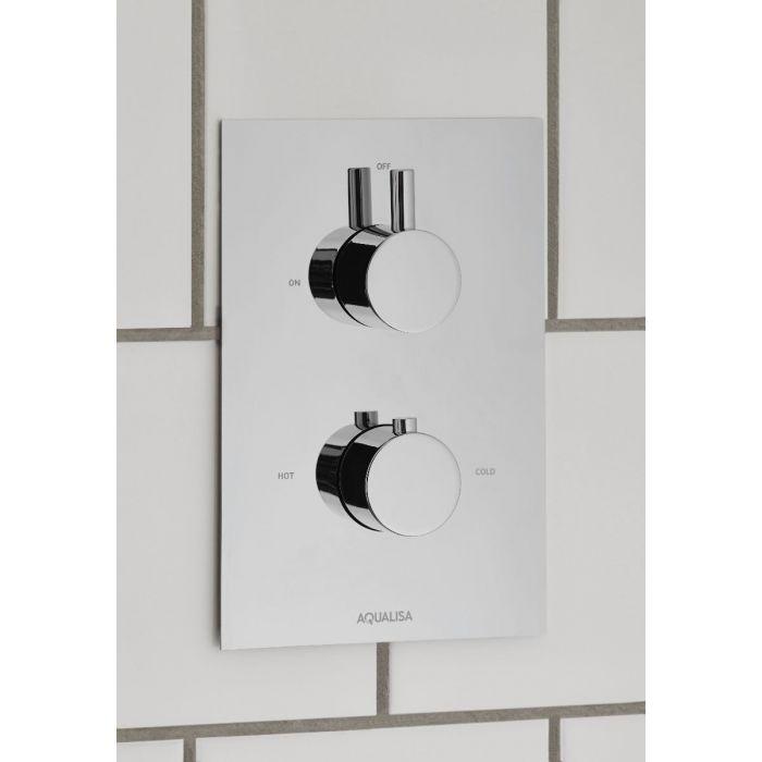 Rise DCV mixer shower - HP/Combi