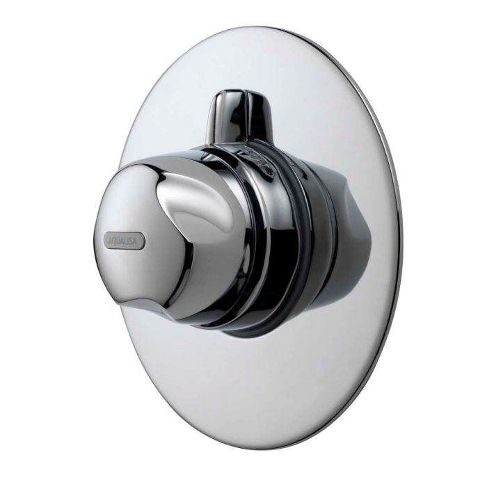 Concealed thermostatic mixer shower Aquavalve 700-Chrome