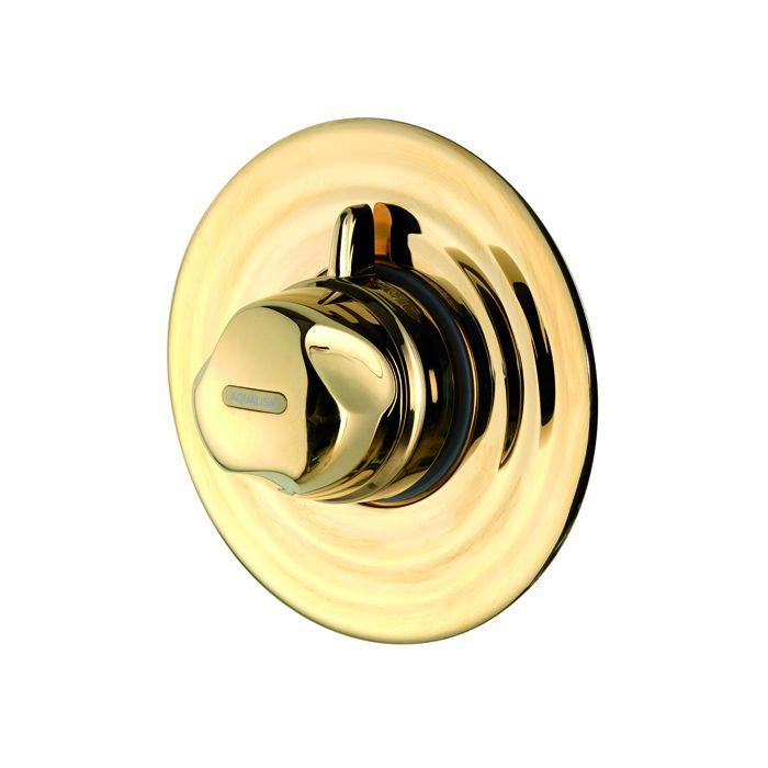 Concealed thermostatic mixer shower Aquavalve 700-Gold