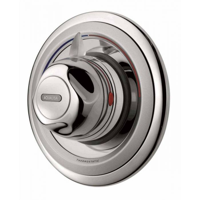 Concealed thermostatic mixer shower valve Aquavalve 609-Chrome