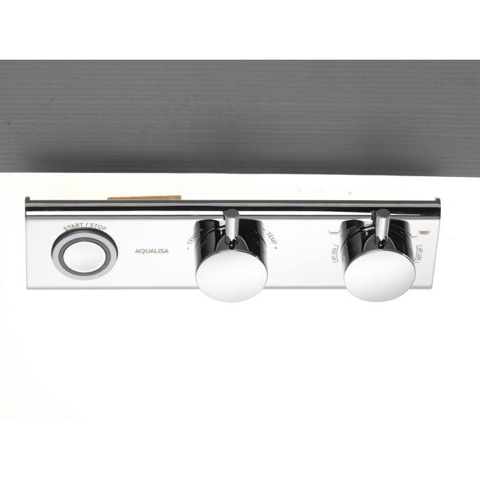 Digital shower controller HiQu-HiQu Bath - Front Chrome