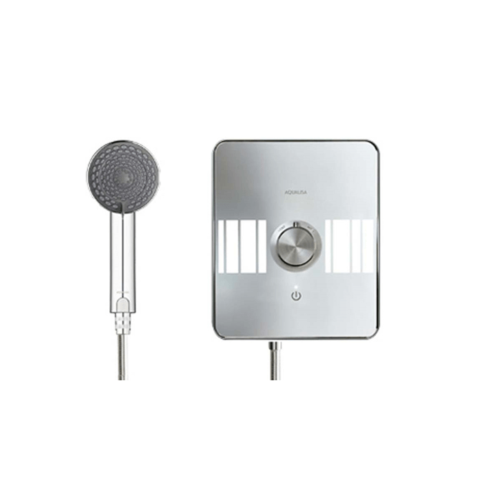 Electric shower 8.5kw Lumi White/Chrome