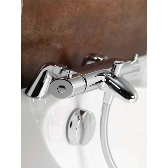 Exposed thermostatic bar valve HiQuXT Premier Collection