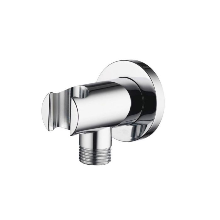 Hand shower holders Premier Collection-Options Round wall outlet with combined hand shower holder
