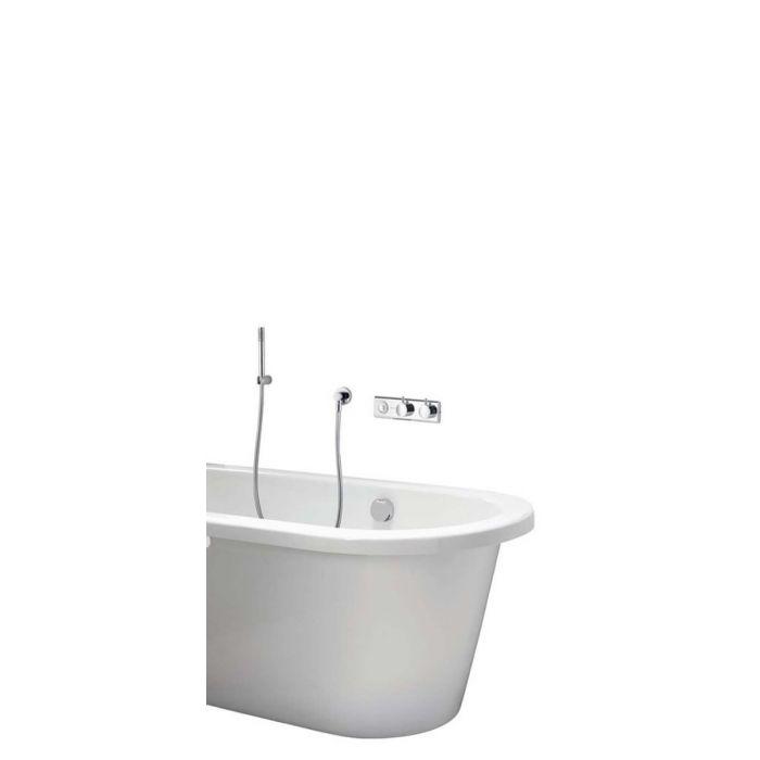 HiQu Concealed Digital Shower/Bath with remote control - Gravity Pumped
