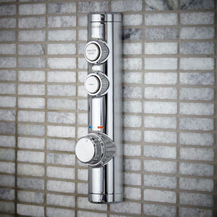 Concealed digital mixer shower iSystem
