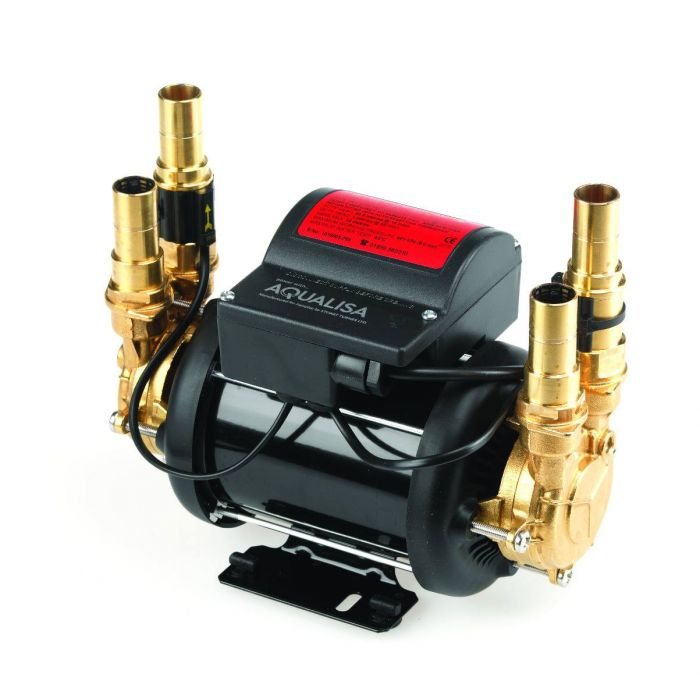 Shower pumps Mach-Mach 3.4 Bar twin ended shower pump