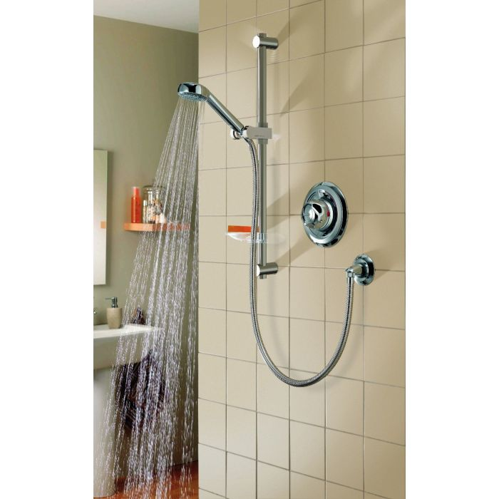 Aqualisa Colt Exposed Mixer Shower with Adjustable Head