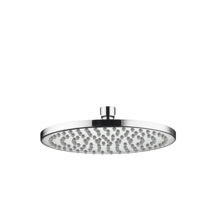 Fixed round drencher Shower heads Premier Collection-Options 200mm Thin Round metal shower head - Chrome