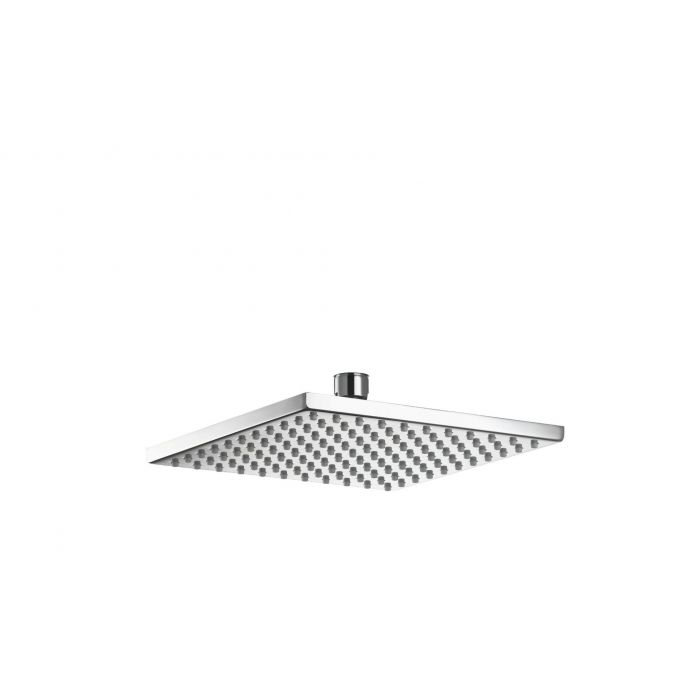 Square drencher Shower heads Premier Collection-Options 200mm Thin Square metal shower head - Chrome