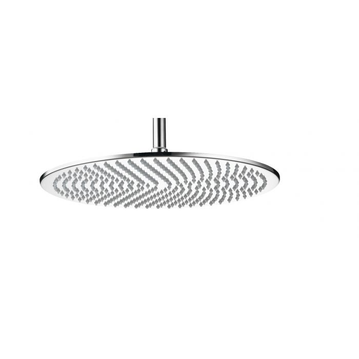Fixed round drencher Shower heads Premier Collection-Options 400mm Thin Round Metal shower Head