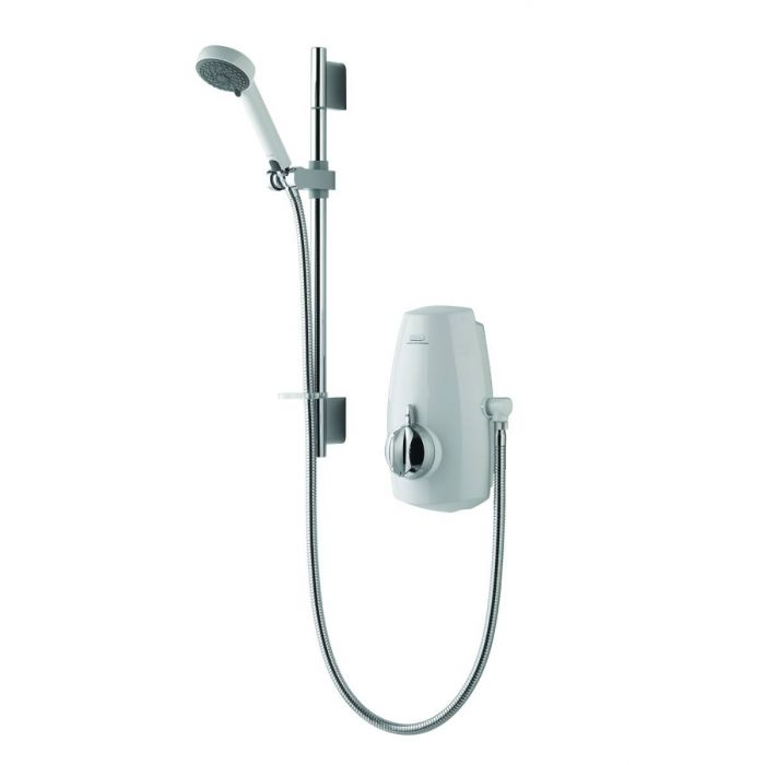 Power shower Aquastream-White/Chrome