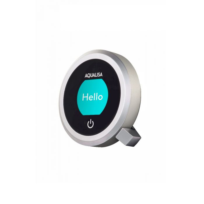 Shower controller and handset ring colour Q -Stardust Silver
