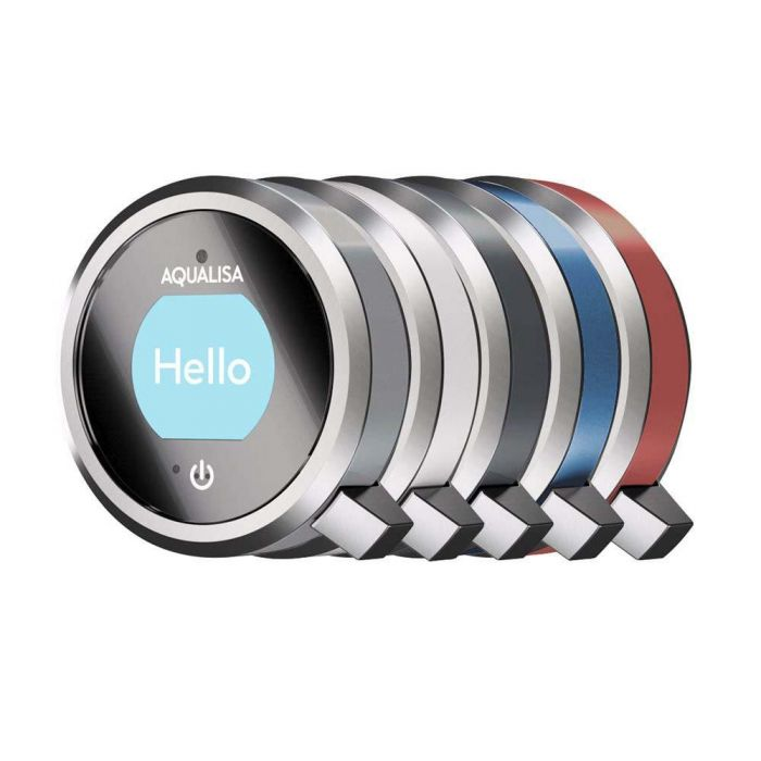 Shower controller and handset ring colour Q