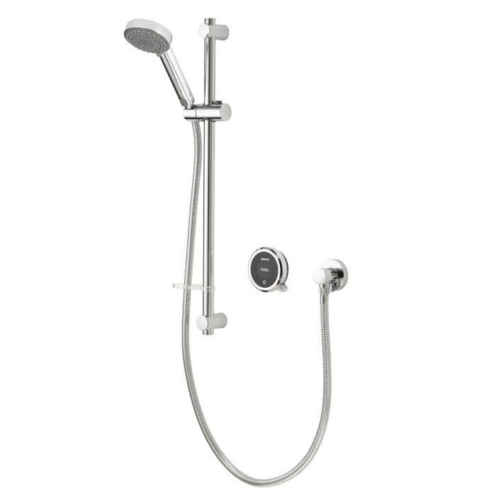 Quartz Touch Smart Digital Shower Concealed with Adjustable Head (Gravity Pumped)