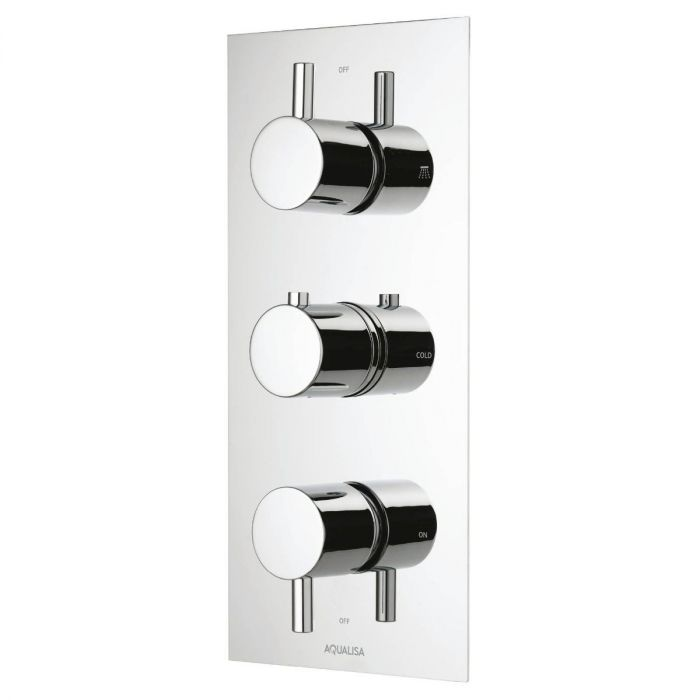 Rise DCV Triple Outlet mixer shower (HP/Combi)