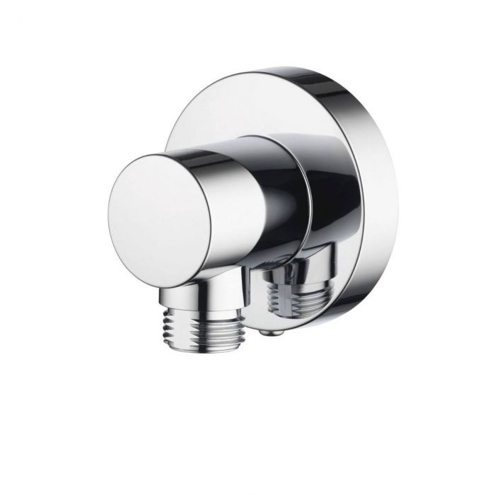 Shower wall outlets Premier Collection-Options Push fit Round wall outlet