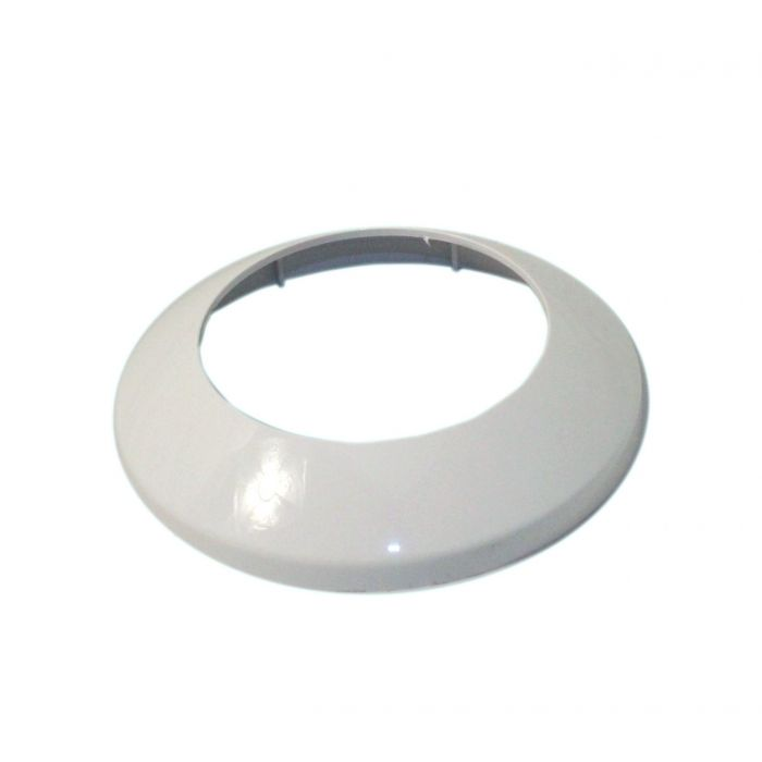 Shower head cover plate Aquarian/Colt Exposed - Cover plate White