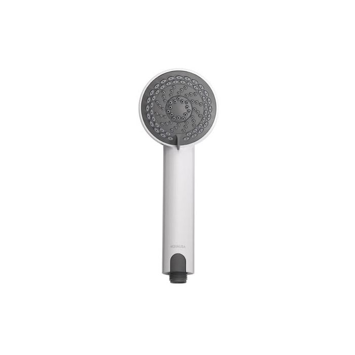 90mm Harmony Shower Head - White/Dark Grey