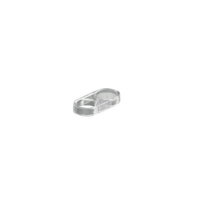 Shower hose restraint 25mm-Hose ring 25mm clear