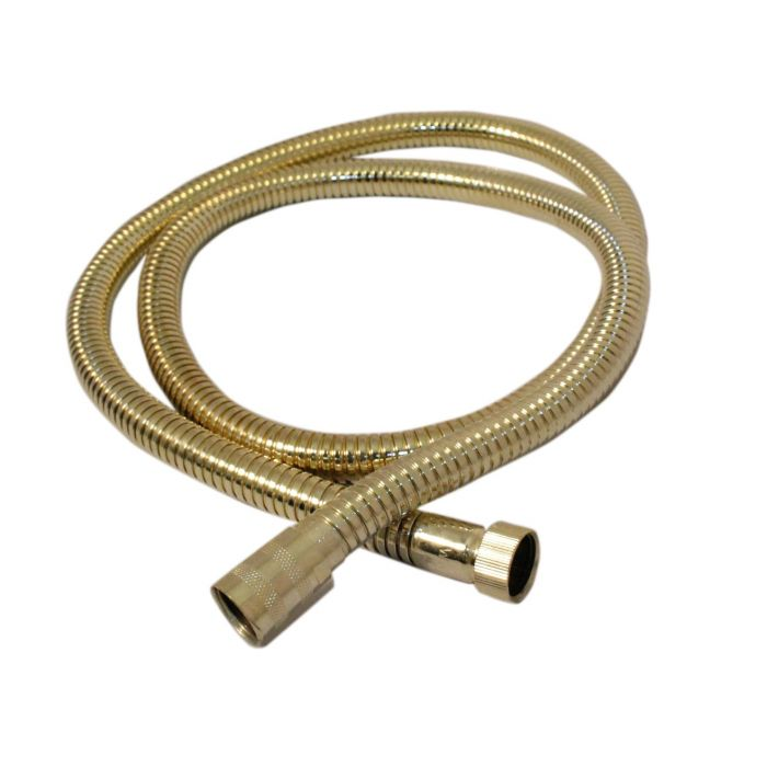 1.5m Shower Hose - Gold