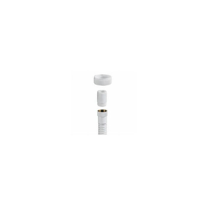Aquavalve 200/400 Exposed Hose Adaptor (Bottom Outlet) - White