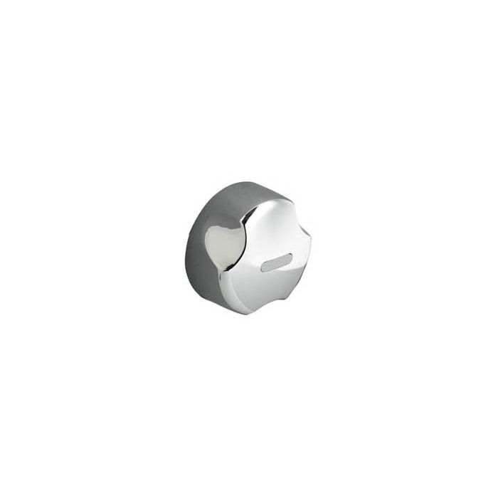 Shower knob Aquavalve 605/405-On/off control knob - White