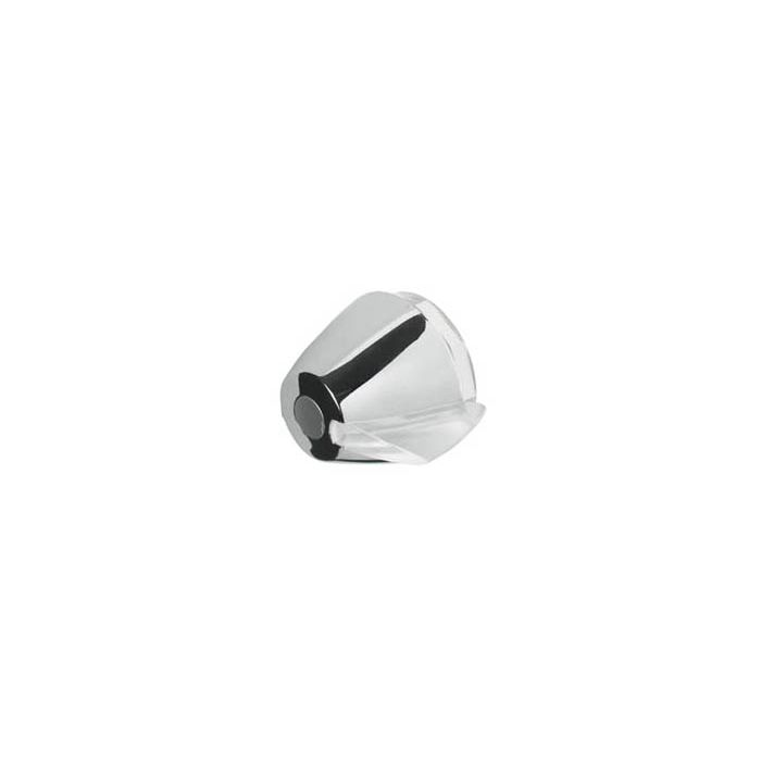 Shower on/off control knob Aquarian/Colt Exposed-On/off control knob White