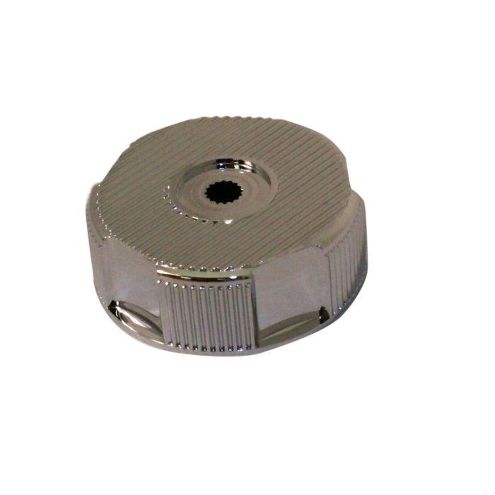 Shower On/Off Control Knob Aquavalve 200/400-On/off control knob - Chrome