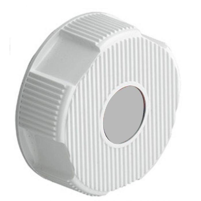 Shower On/Off Control Knob Aquavalve 200/400-On/off control knob - White