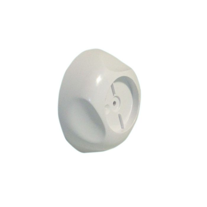 Shower on/off control knob Aquavalve 609/409/Colt Concealed-On/off control knob White