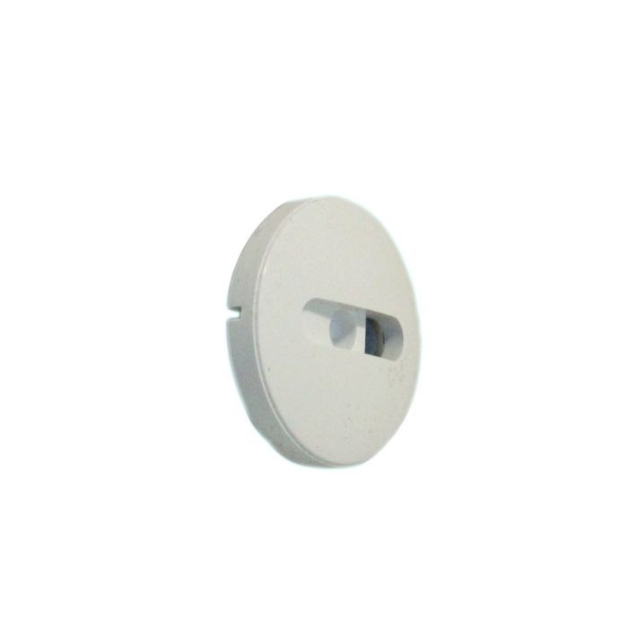 Shower on/off knob insert Aquavalve 609/409/Colt Concealed-On/off knob insert White