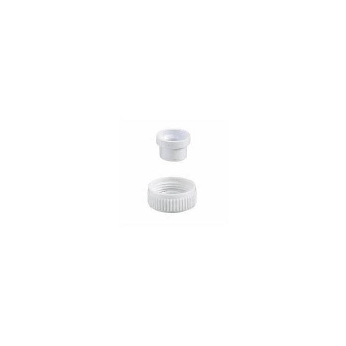 Shower outlet plug Aquavalve 200/400-Outlet blanking plug 22 mm - White