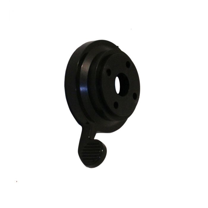 Shower temperature control knob Aquavalve 200/400-Temperature control lever - Black