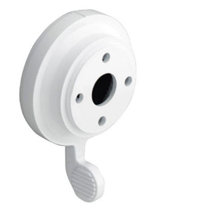 Shower temperature control knob Aquavalve 200/400-Temperature control lever - White
