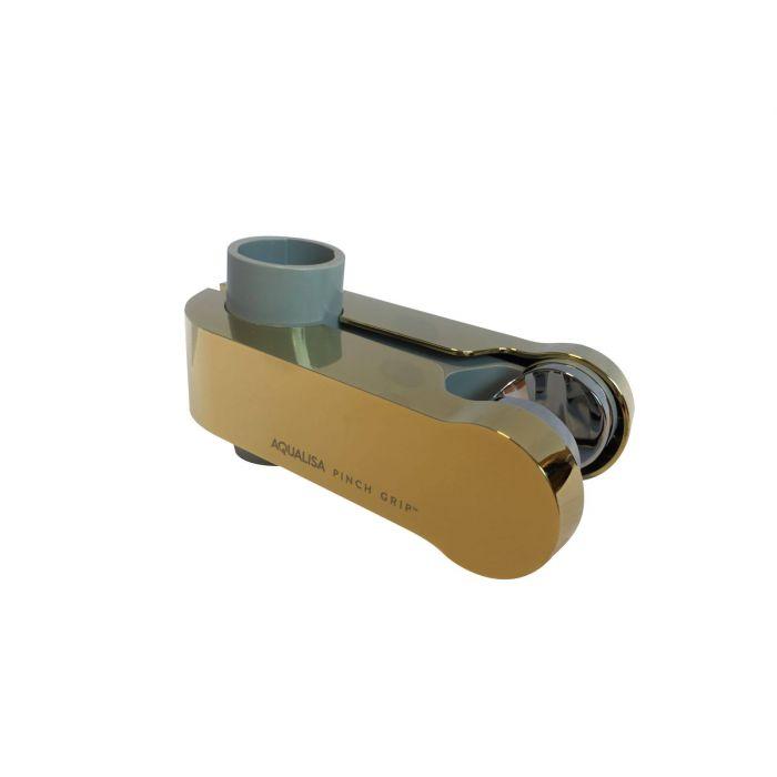 Sliding shower head holders-Sliding Shower head holder 25mm Gold