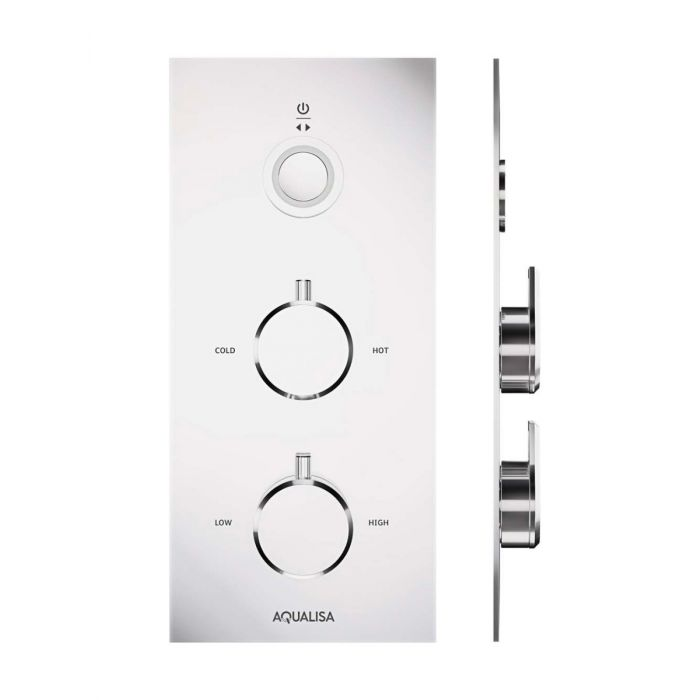 Digital traditional shower mixer Infinia for single shower head with Remote Control - HP/Combi