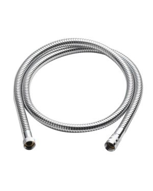 1.5m Metal Shower Hose in Chrome