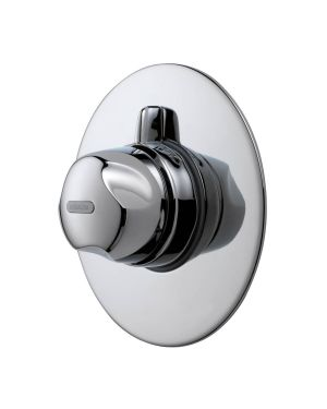 Aquavalve 700 Concealed Thermostatic Mixer Shower Valve shown in Chrome