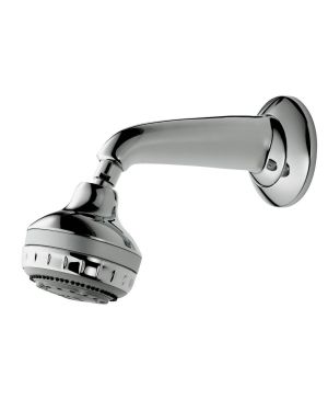 Turbostream Concealed Fixed Shower Head kit available in Chrome