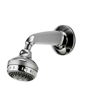 Varispray Concealed Fixed Shower Head available in Chrome