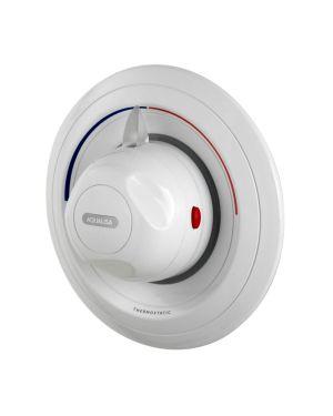 concealed thermostatic shower mixer valve aquavalve 609 white