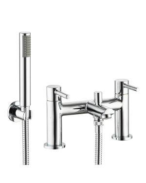 Uptown Bath Taps with shower head holder